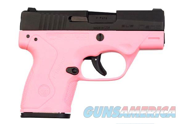 Beretta NANO 9MM 6+1 BLK/PINK 3.07   Guns > Pistols > Beretta Pistols > Polymer Frame