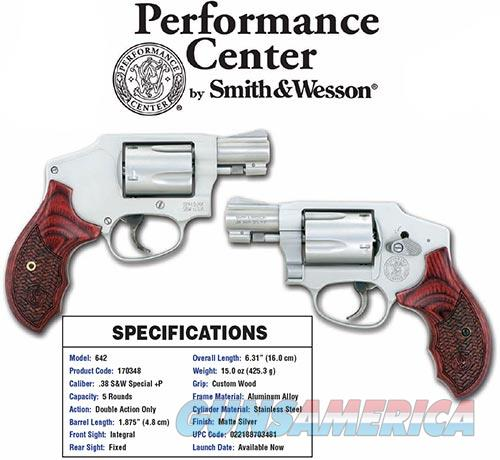 Smith and Wesson 642PC 38SPC 1-7/8 SS/WD 170348 PERFORMANCE CENTER  Guns > Pistols > S Misc Pistols