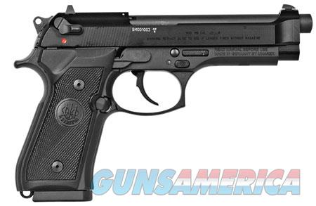 "Beretta USA J90A1M9A1F18 M9 22LR Single/Double 22 Long Rifle (LR) 4.9"" 10+1 Black Rubber Grip Black  Guns > Pistols > Glock Pistols > 19/19X"