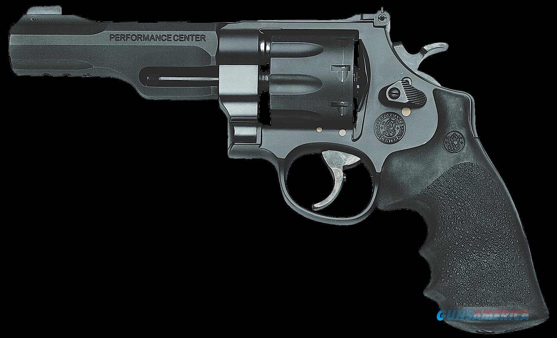 "Smith & Wesson 170269 327 Performance Center Single/Double 357 Magnum 5"" 8 Black Rubber Black  Guns > Pistols > Smith & Wesson Revolvers > Full Frame Revolver"