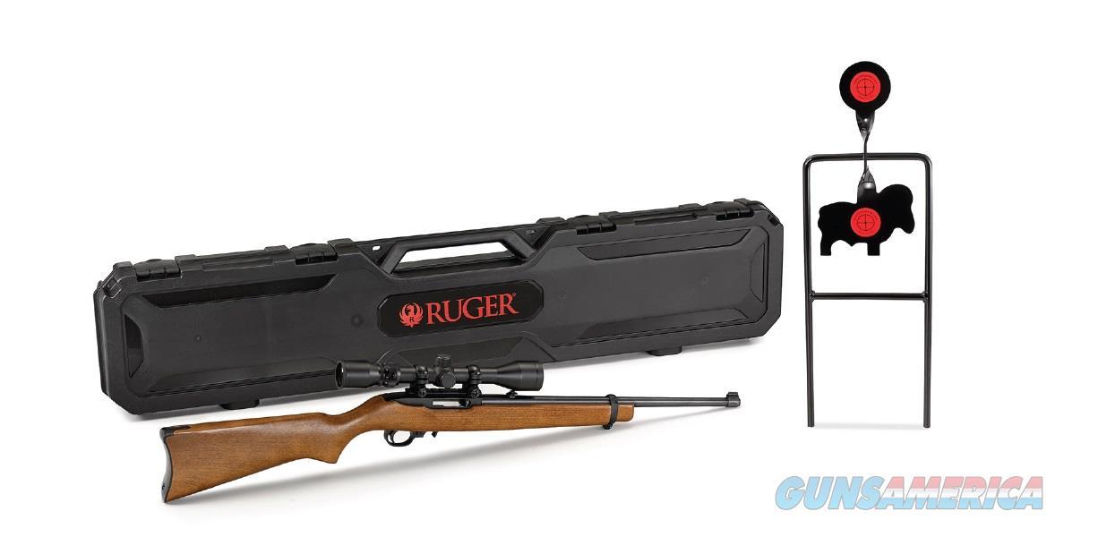 Ruger 10/22 CARB 22LR BL/WD SCP TGT 31104  Guns > Rifles > R Misc Rifles