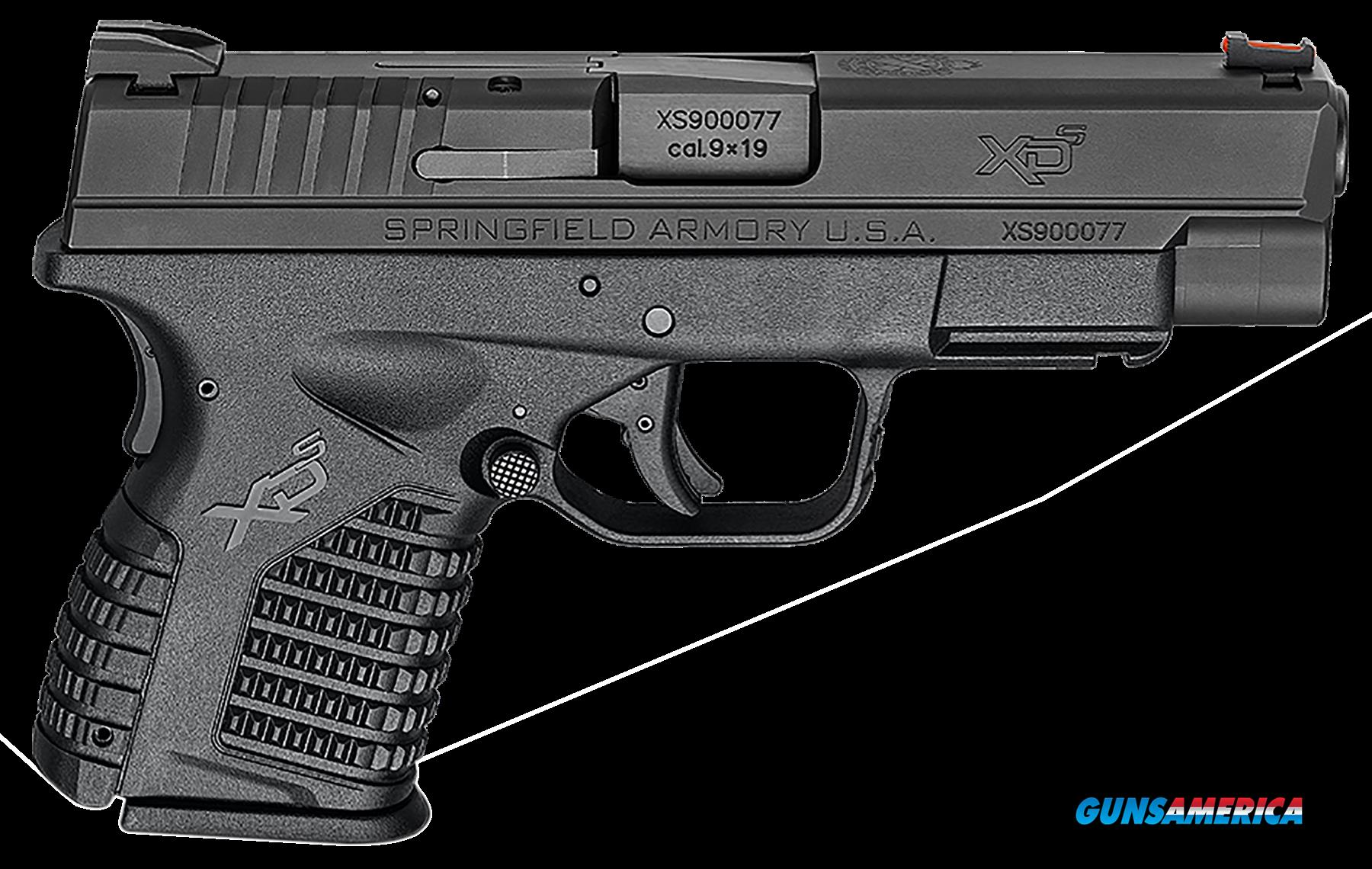 "Springfield Armory XDS9409BE XD-S Essential 9mm DAO 4"" 7+1 Black Polymer Grip  Guns > Pistols > S Misc Pistols"