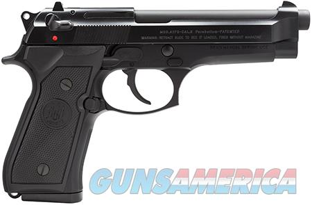 "Beretta USA JS92F300 92 FS Italy Single/Double 9mm Luger 4.9"" 10+1 Black Synthetic Grip Black  Guns > Pistols > Beretta Pistols > Model 92 Series"