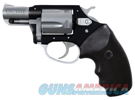 """Charter Arms 53870 Undercover Lite Standard Revolver Single/Double 38 Special 2"""" 5 Rd Black Rubber  Guns > Pistols > Charter Arms Revolvers"""