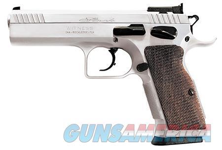 "EAA 600605 Witness Elite Stock 2 Single/Double 9mm Luger 4.50"" 17+1 Walnut Grip Chromed  Guns > Pistols > EAA Pistols > Other"