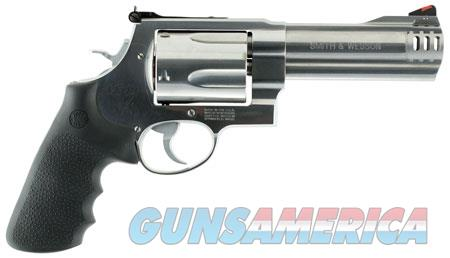 """Smith & Wesson 163465 460 XVR Single/Double 460 Smith & Wesson Magnum 5"""" 5 rd Black Synthetic Grip  Guns > Pistols > Smith & Wesson Revolvers > Full Frame Revolver"""