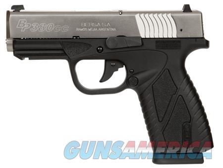 "Bersa BP380DTCC BPCC Concealed Carry  380 ACP 3.30"" 8+1 Black Nickel Black Polymer Grip  Guns > Pistols > Bersa Pistols"
