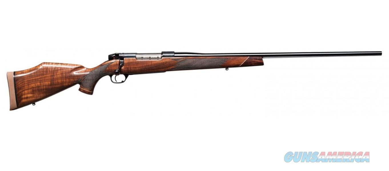Weatherby MARK V DELUXE 30-06 BL/WD 24 AA GRADE AMERICAN WALNUT  Guns > Rifles > W Misc Rifles
