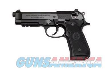 "Beretta USA J9A9F11 92 A1 Standard Single/Double 9mm Luger 4.9"" 10+1 Black Synthetic Grip Black  Guns > Pistols > Beretta Pistols > Model 92 Series"