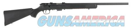 """Savage 93200 93 FV Bolt 22 WMR 21"""" 5+1 Black Fixed Synthetic Stock Blued Steel Receiver  Guns > Rifles > Savage Rifles > Accutrigger Models > Sporting"""
