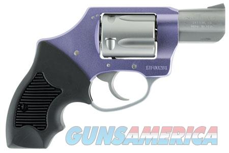 """Charter Arms 53841 Undercover Lite Lavender Lady  Revolver Double 38 Special 2"""" 5 Rd Black Rubber  Guns > Pistols > Charter Arms Revolvers"""