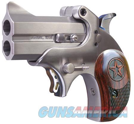 "Bond Arms BAM Mini Original Derringer Single 45 Colt (LC) 2.5"" 2 Round Stainless  Guns > Pistols > Bond Derringers"