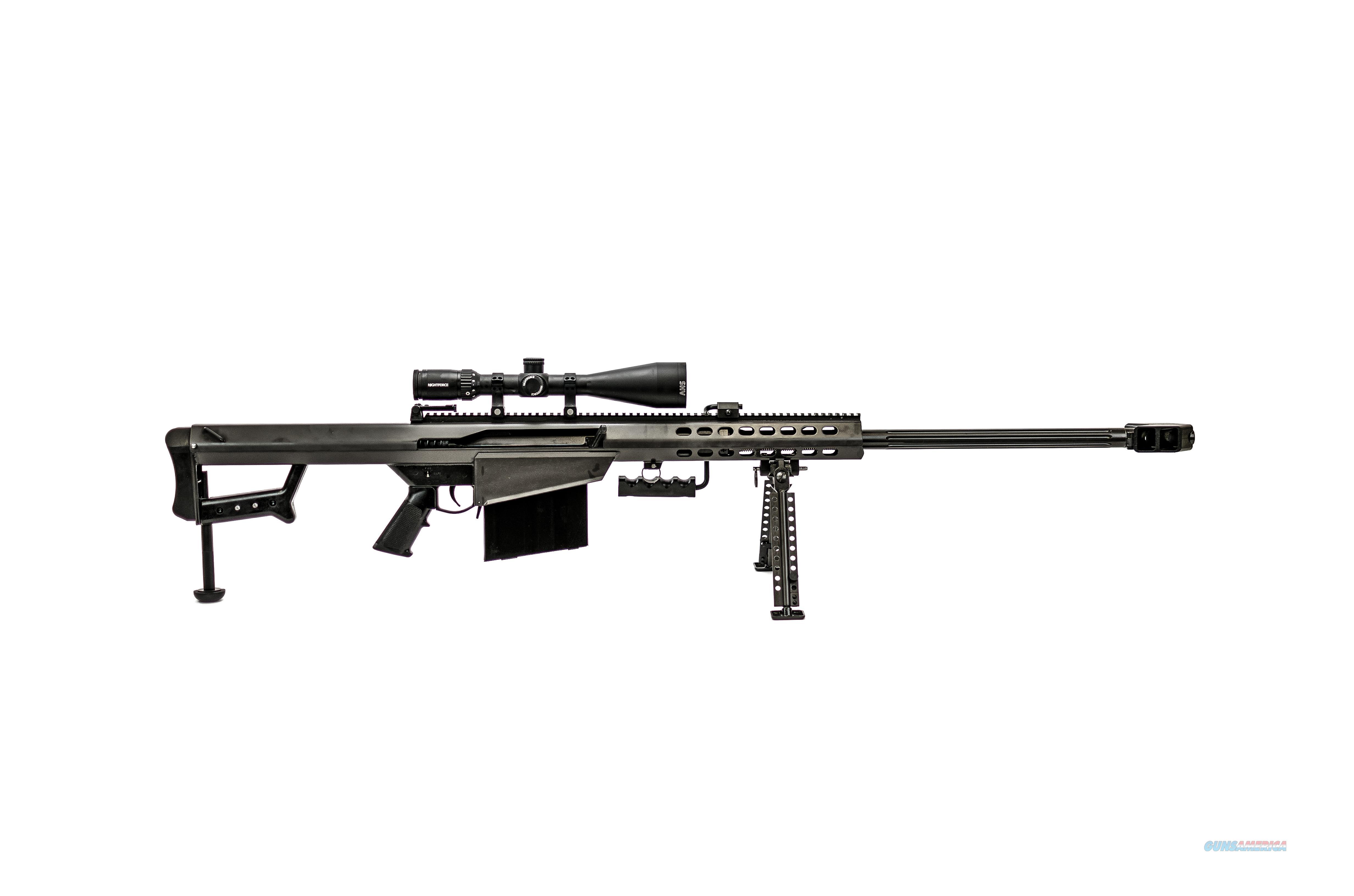 Barrett Firearms 82A1 50BMG BLK 29 SCOPE COMBO 5-20X56 NIGHTFORCE SCOPE  Guns > Rifles > B Misc Rifles