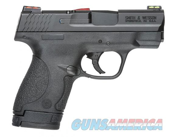 "Smith & Wesson 11905 M&P 9 Shield *CA Compliant 9mm Luger 3.10"" 7+1 & 8+1 Black Black Armornite  Guns > Pistols > Smith & Wesson Pistols - Autos > Shield"