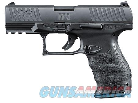 """Walther Arms 2796074 PPQ M2 40 S&W Double 4.2"""" 11+1 Black Polymer Grip/Frame Grip Black Tenifer  Guns > Pistols > Walther Pistols > Post WWII > P99/PPQ"""