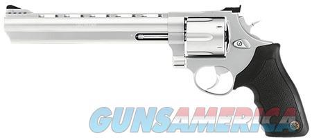 """Taurus 2440089 44 Standard 44 Rem Mag 6 Round 8.38"""" Stainless Stainless Steel Black Rubber Grip  Guns > Pistols > Taurus Pistols > Revolvers"""
