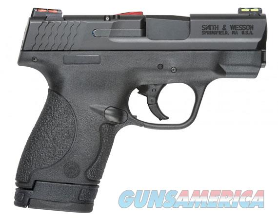 "Smith & Wesson 11906 M&P 40 Shield *CA Compliant with HiViz Sights 40 S&W Double 3.1"" 6+1/7+1 Black  Guns > Pistols > Smith & Wesson Pistols - Autos > Shield"
