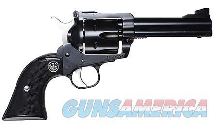 "Ruger 0308 Blackhawk Convertible  357 Mag 4.625"" 6 Round Black Rubber Grip Blued  Guns > Pistols > Ruger Single Action Revolvers > Blackhawk Type"