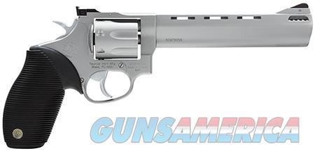 "Taurus 2627069 627 Standard 357 Mag 7 Round 6.50"" Stainless Steel Black Ribber Grip  Guns > Pistols > Taurus Pistols > Revolvers"