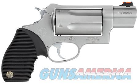 "Tau 2441039TC Judge Tracker Public Defender 410/45LC 2.5"" 5rd Ribber Grip Matte Silver  Guns > Pistols > Taurus Pistols > Revolvers"