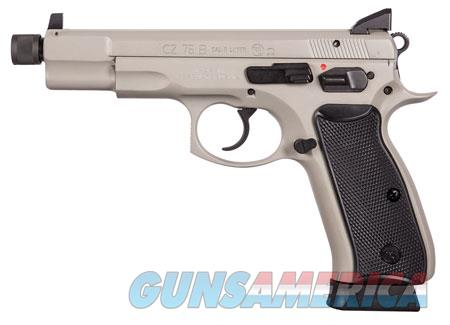 "CZ 01235 CZ 75 Omega 9mm Luger Single/Double 5.20"" 10+1 Black Polymer Grip Gray Slide  Guns > Pistols > C Misc Pistols"