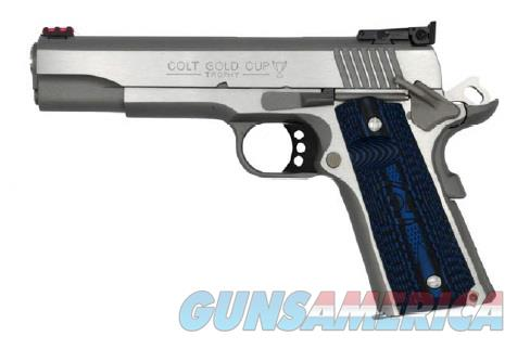 Colt Mfg O5072GCL Gold Cup Lite 9mm Luger Single 5 8+1 Blue G10 Checkered w/Scallop Grip Round Top  Guns > Pistols > C Misc Pistols