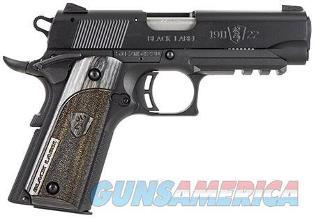 "Browning 051817490 1911-22 Black Label Compact w/Rail 22 LR 3.625"" 10+1 Laminate Black  Guns > Pistols > Browning Pistols"