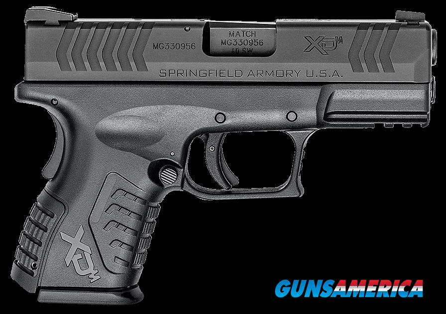 "Springfield Armory XDM9384CBNJE XD(M) Compact Double 40 Smith & Wesson (S&W) 3.8"" 11+1 Blk Polymer  Guns > Pistols > S Misc Pistols"