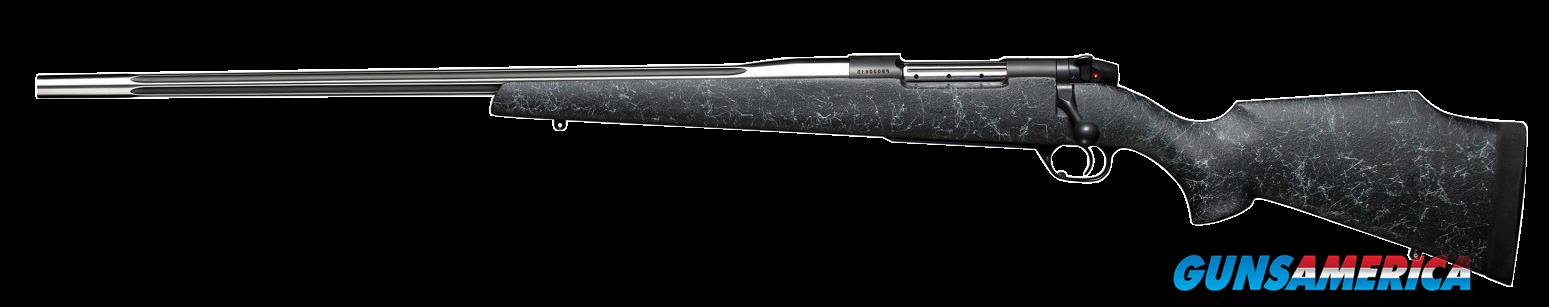 "Weatherby MAMM300WL6O Mark V Accumark Bolt 300 Weatherby Magnum 26"" 3+1 Synthetic Blk w/Gray  Guns > Rifles > Weatherby Rifles > Sporting"