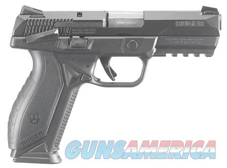 "Ruger 8638 American Duty 9mm Luger 4.20"" 10+1 Black Polymer Black Wrap Around Ergonomic  Guns > Pistols > R Misc Pistols"