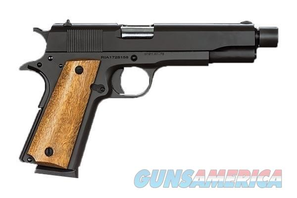 Rock Island Armory M1911-A1 GI 1911 45ACP THREAD THREADED BARREL  Guns > Pistols > Armscor Pistols > Rock Island