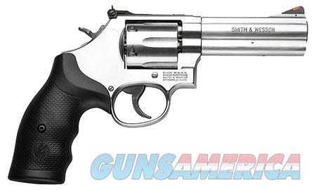"""Smith & Wesson 164222 686 Distinguished Combat Single/Double 357 Magnum 4.125"""" 6 rd Black Synthetic  Guns > Pistols > Smith & Wesson Revolvers > Full Frame Revolver"""