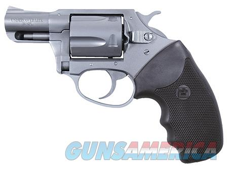 """Charter Arms 53820 Undercover Lite Standard Single/Double 38 Special 2"""" 5 Black Rubber Stainless  Guns > Pistols > Charter Arms Revolvers"""