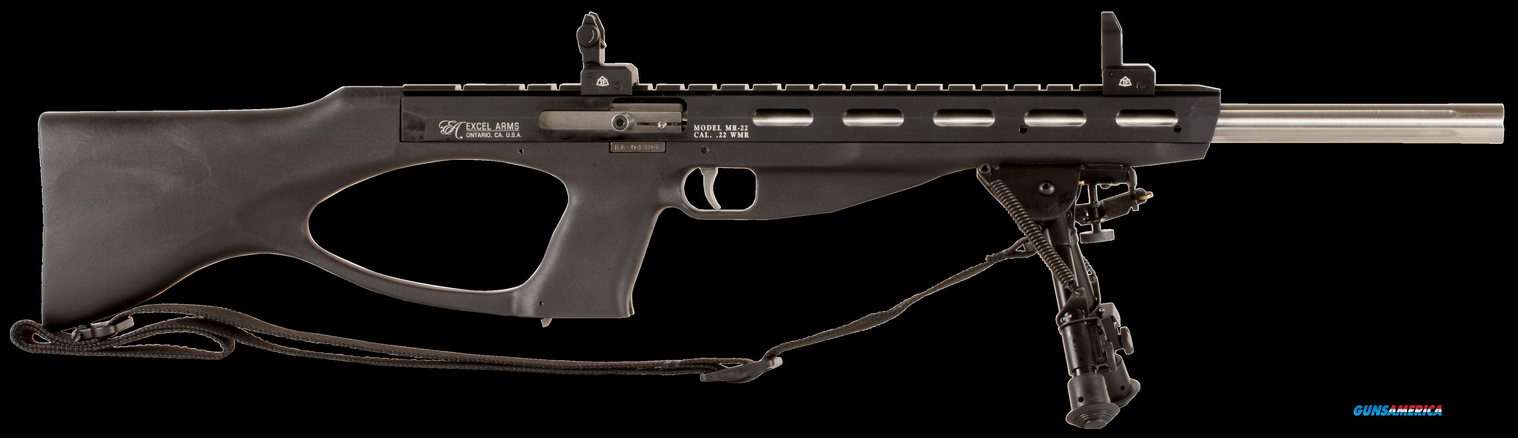 "Excel EA22108 Accelerator Rifle MR-22 Semi-Automatic 22 Winchester Magnum Rimfire (WMR) 18"" 9+1  Guns > Rifles > Excel Arms Rifles"