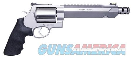 "Smith & Wesson 11626 460 Performance Center XVR 460 S&W Mag 5 Round 7.50"" Stainless Steel Black  Guns > Pistols > S Misc Pistols"