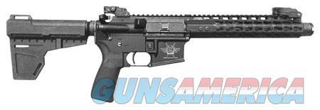 """Civilian Force Arms 010117WP Warrior-15 Pistol 223 Rem,5.56 NATO 7.50"""" 30+1 Black Hardcoat Anodized  Guns > Rifles > C Misc Rifles"""