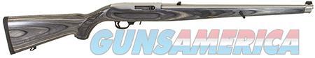"Ruger 1132 10/22 Carbine Semi-Automatic 22 Long Rifle (LR) 18.5"" 10+1 Laminate Black Mannlicher Stk  Guns > Rifles > Ruger Rifles > 10-22"