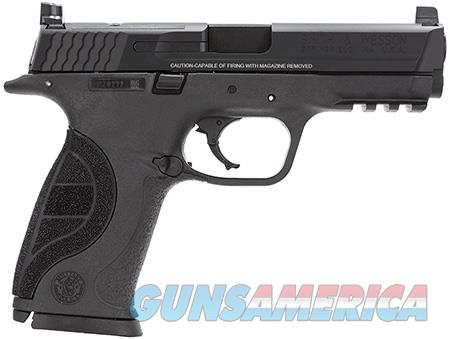 "Smith & Wesson 178060 M&P 40 Pro 40 S&W Double 4.25"" 15+1 Black Interchangeable Backstrap Grip Black  Guns > Pistols > Smith & Wesson Pistols - Autos > Polymer Frame"