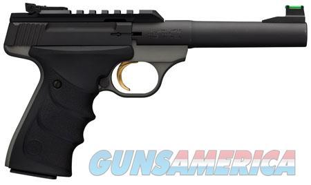 "Browning 051530490 Buck Mark Plus Practical 22 LR 5.50"" 10+1 Gray Black Aluminum Alloy Black  Guns > Pistols > B Misc Pistols"