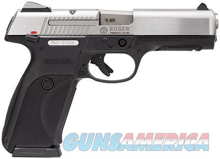 "Ruger 3801 SR45 Standard 45 ACP DA 4.50"" 10+1 Black Polymer Grip Stainless Steel Slide  Guns > Pistols > R Misc Pistols"
