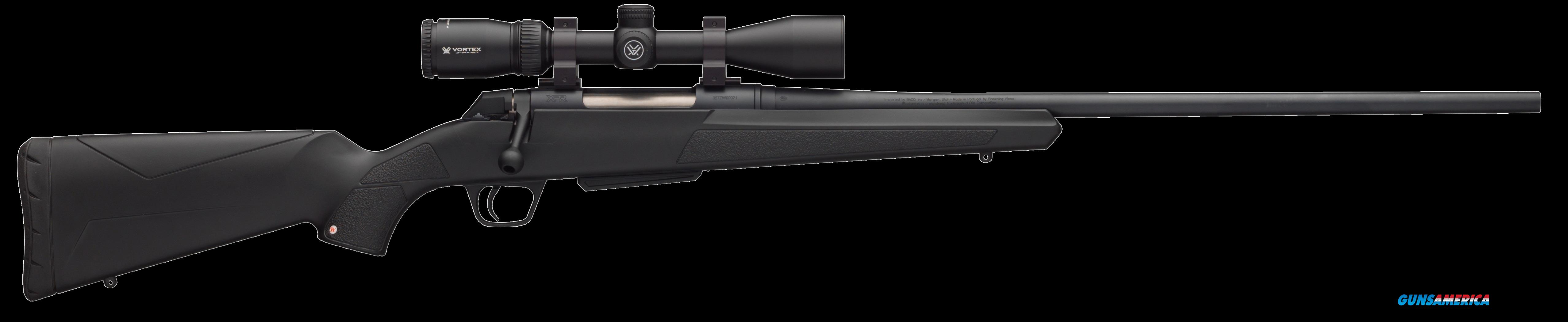 "Winchester Guns 535705228 XPR Vortex Scope Combo Bolt 30-06 Springfield 24"" 3+1 Synthetic Black Stk  Guns > Rifles > W Misc Rifles"