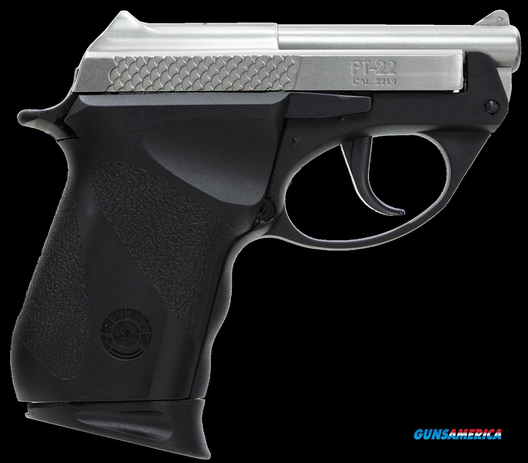 "Taurus 1220039PLY M22 Double 22 Long Rifle 2.8"" 8+1 Black Polymer Grip Stainless Steel  Guns > Pistols > Taurus Pistols/Revolvers > Pistols > Polymer Frame"