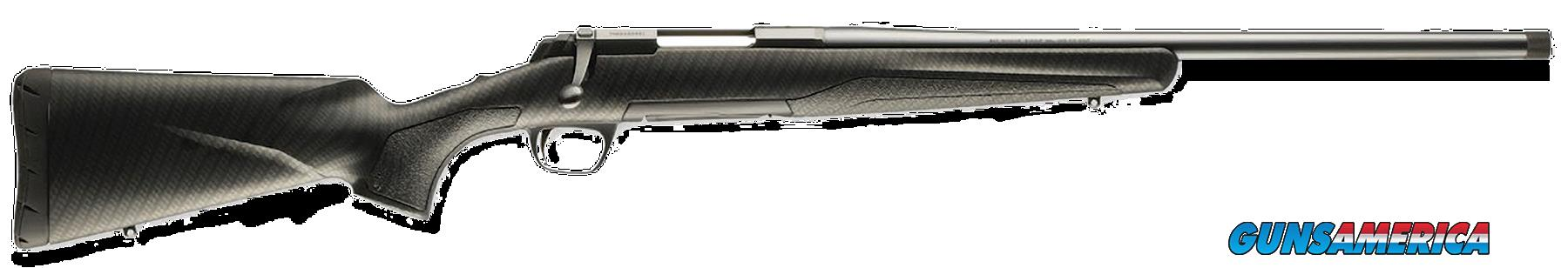 "Browning 035288208 X-Bolt Hog Stalker Bolt 223 Remington 20"" 5+1 Synthetic Carbon Fiber Stk Blued  Guns > Rifles > B Misc Rifles"