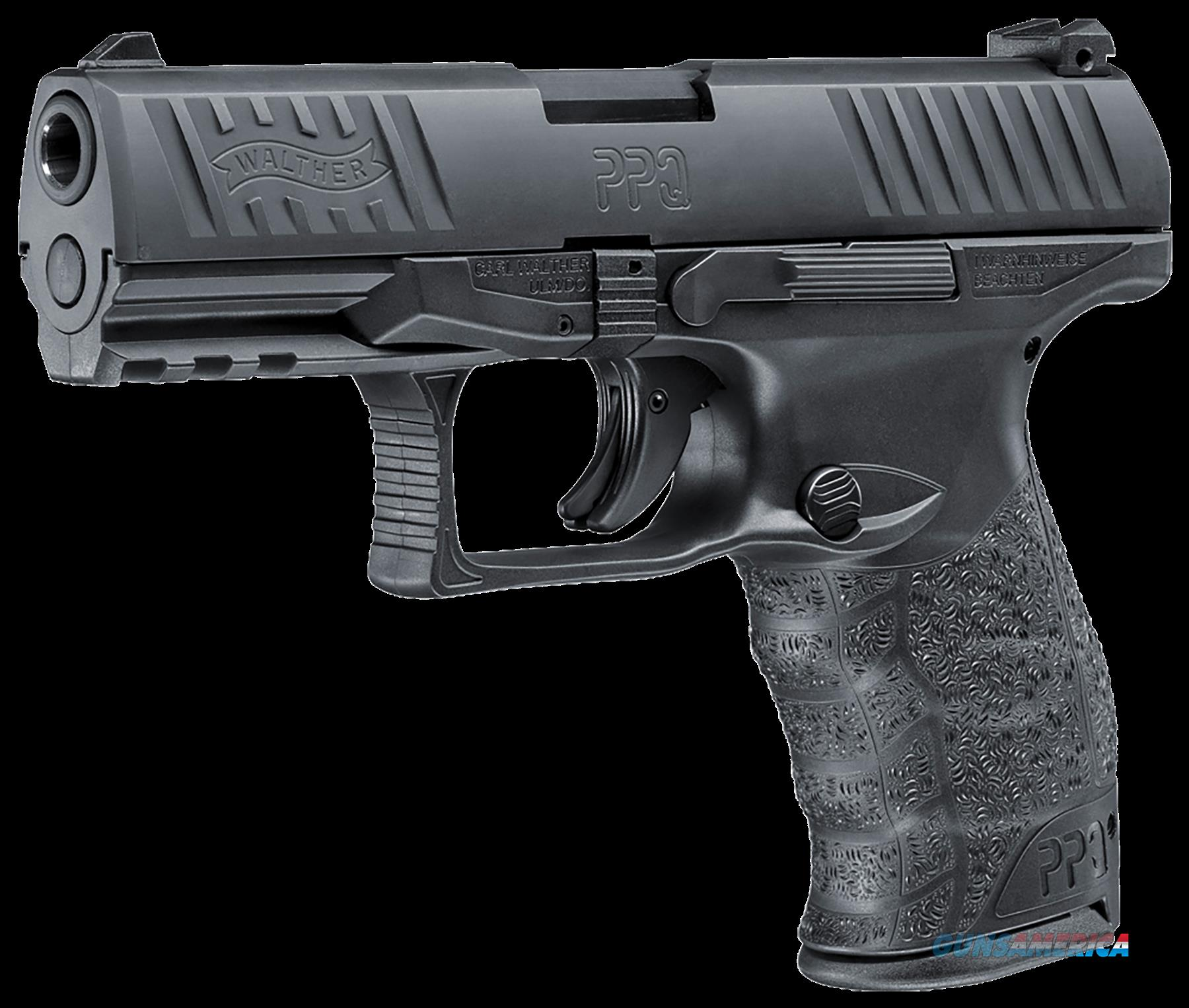 "Walther Arms 2796067 PPQ M2 DAO 9mm 4"" 10+1 Poly Grip/Frame Black  Guns > Pistols > Walther Pistols > Post WWII > P99/PPQ"
