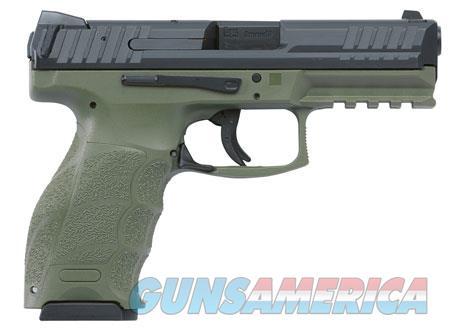 "HK M700009GRA5 VP9 9mm  9mm Luger Double 4.09"" 15+1 OD Green Interchangeable Backstrap Grip Black  Guns > Pistols > H Misc Pistols"