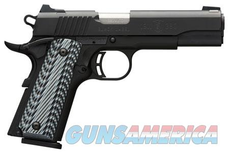 "Browning 051900492 1911-380 Black Label Pro  380 ACP 4.25"" 8+1 Black G10  Guns > Pistols > Browning Pistols > Other Autos"