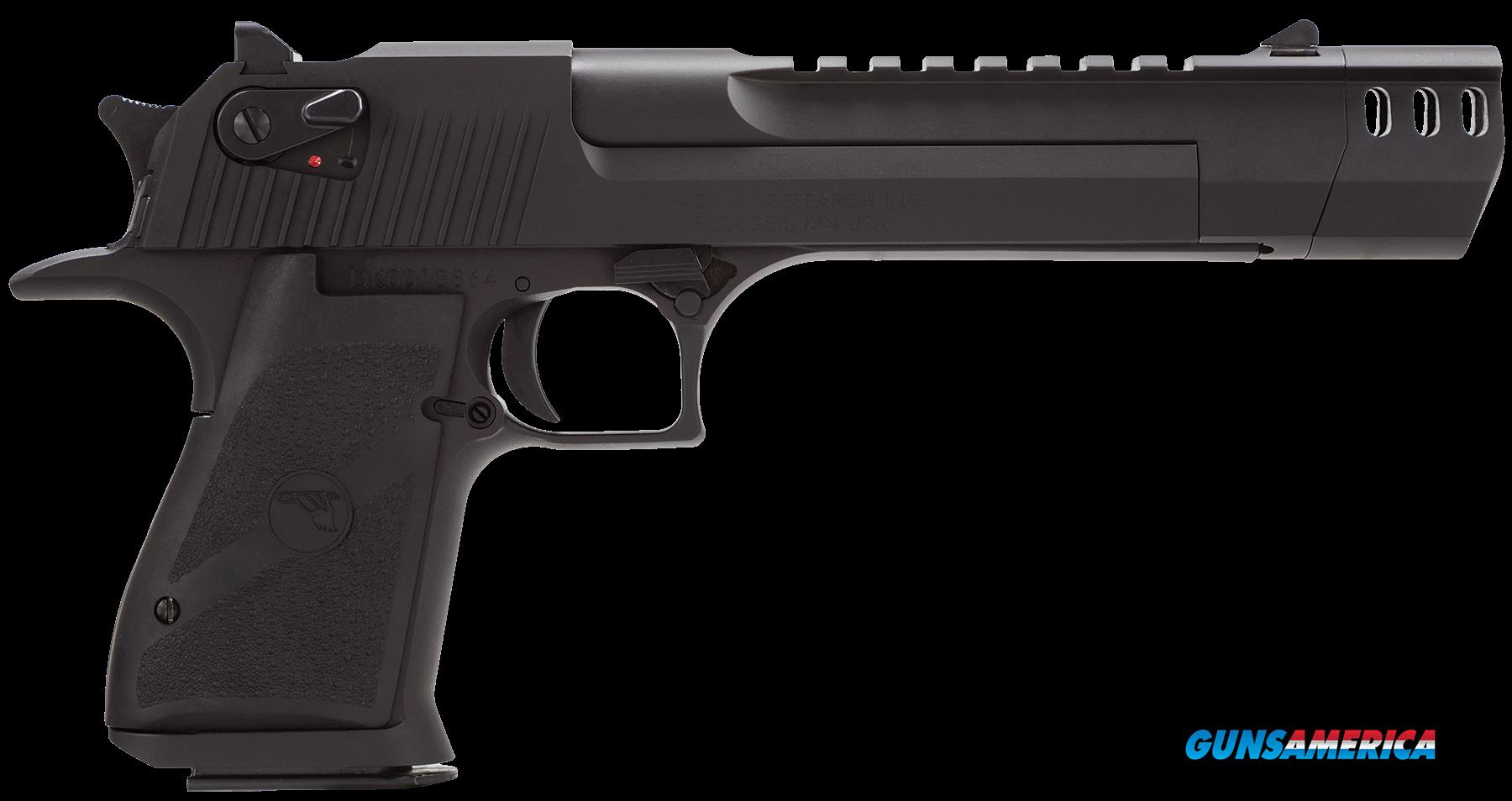 "Magnum Research DE44MB Desert Eagle Mark XIX 44Mag 7.2"" MB 8+1 Blk Syn Grip Blk  Guns > Pistols > Magnum Research Pistols"