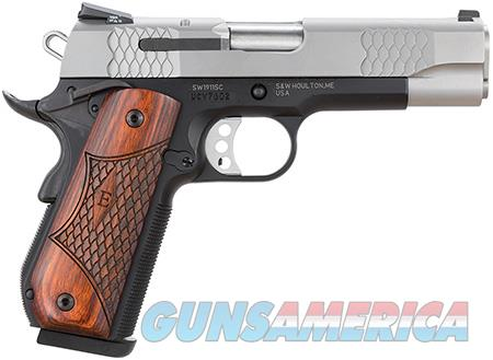 "Smith & Wesson 108485 1911 E Series 45 ACP Single 4.25"" 8+1 Laminate Wood/Rounded Butt Grip  Guns > Pistols > Smith & Wesson Pistols - Autos > Steel Frame"