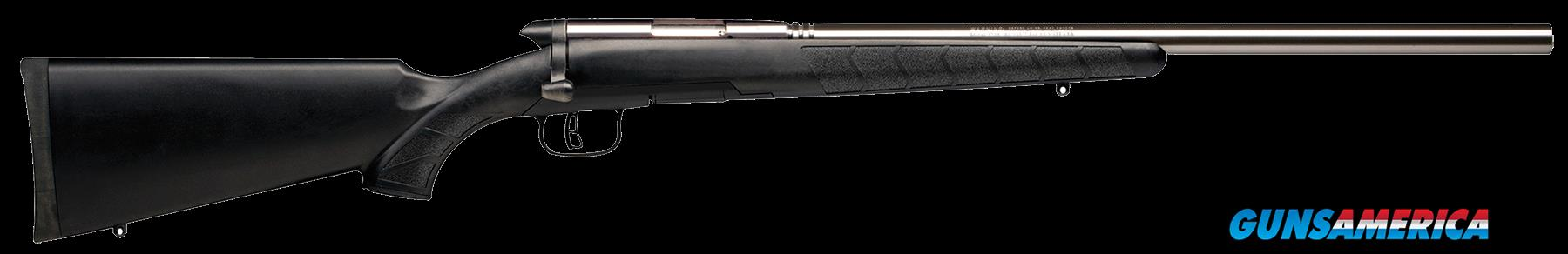 "Savage 96915 B.Mag 17 WSM Bolt 17 Winchester Super Magnum (WSM) 22"" 8+1 Synthetic Black Stk  Guns > Rifles > S Misc Rifles"