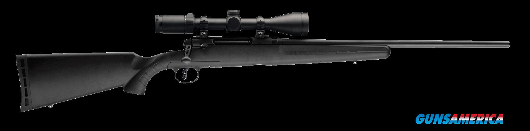 "Savage 22225 Axis II XP with Scope Bolt 308 Winchester 22"" 4+1 Synthetic Black Stk Blued  Guns > Rifles > S Misc Rifles"